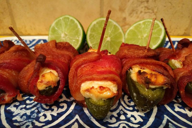 Bacon-Wrapped Jalapeño Poppers: Savory Keto Fat Bomb